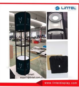 LED Light Aluminum Tower Display Acrylic Stand pictures & photos