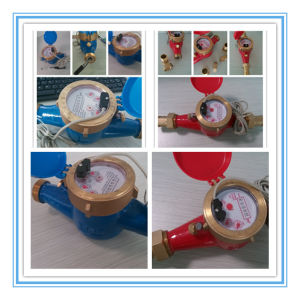 Pulse Output Water Flow Meter in 100 Liter Per Pulse pictures & photos