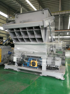 High Efficiency Heavy Duty Single Shaft Shredder pictures & photos