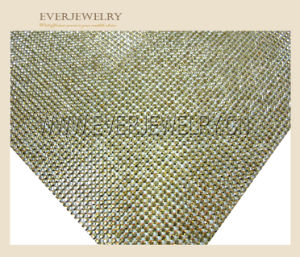 24*40 Hot Fix Crystal Rhinestone Mesh pictures & photos
