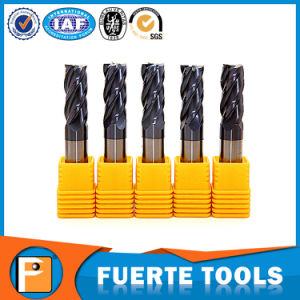4 Flutes Tungsten Carbide Cutter with Altin Coating for Metal Processing pictures & photos