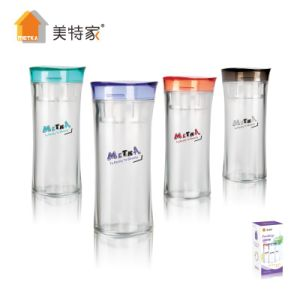 Metka Household High Quality Plastic Crystal Water Cup 380ml pictures & photos