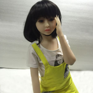 128cm Flat Chest Cute Girl Sex Doll Love Vagina pictures & photos