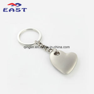 Hot Sale Heart Shape Zinc Alloy Key Ring for Souvenir pictures & photos