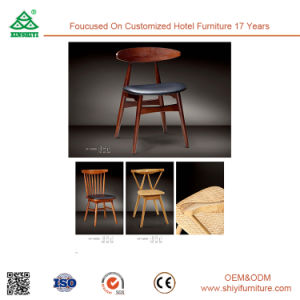 Wooden Kitchen Dining Chair with Armrest pictures & photos