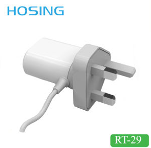 EU/ UK/ Us Plug Micro Home and Travel Wall Charger pictures & photos