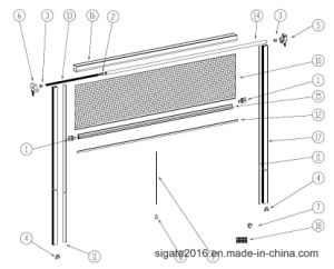 Retractable Insect Screen/Fly Screen, Mk02 System pictures & photos