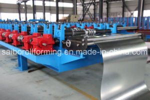 High Speed Track Cutting Roofing Roll Forming Machine pictures & photos