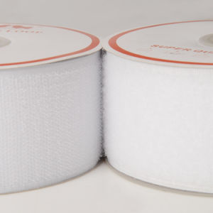 50mm Velcro Hook Loop Tape - White pictures & photos