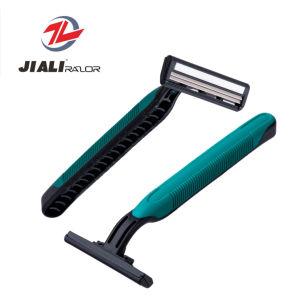 Soft Grip Disposable Twin Blade Razor Wholesale pictures & photos
