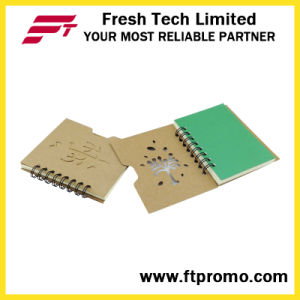 OEM Promotional Gift Notebook with Logo Print pictures & photos