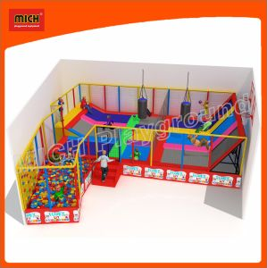 2017 Mich Indoor Playground Kids Trampoline Mini Trampoline pictures & photos