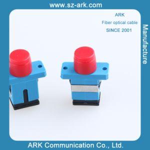 Sc-FC Simplex Plastic Hybrid Fiber Optic Adapter pictures & photos