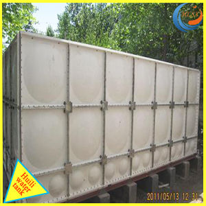 Foldable GRP FRP SMC Water Storage Tank with ISO pictures & photos