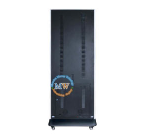 Floor Stand LED Digital Signage Services 49 Inch with Wheels (MW-491AKN) pictures & photos