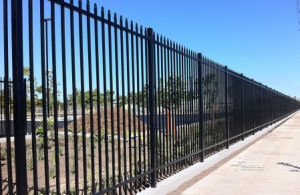 Zinc Steel Hot Sales Powder Coated Security Fencing with Spear pictures & photos