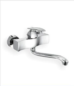 Oudinuo Single Handle Brass Bathtub Faucet 67513-1 pictures & photos