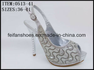 Women Fashion Design Shoes Dressing Party High Heels (0513-61) pictures & photos