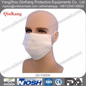 Disposable Nonwoven Medical Surgical Mask with Earloop or Ties on pictures & photos