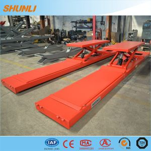 Ultrathin Floor-Mounted Alignment Scissor Design Hydraulic for Car Lift pictures & photos