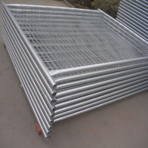 Steel Barrier Made by Galvanized and Painted Square Tube pictures & photos