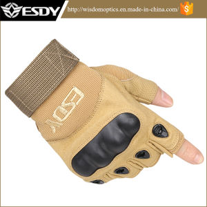 Esdy Military Tactical Airsoft Hunting Fingerless Sports Gloves pictures & photos