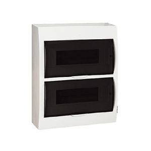 Ce and RoHS Approval Surface Mounting Plastic Distribution Box 12/18/24/36ways pictures & photos