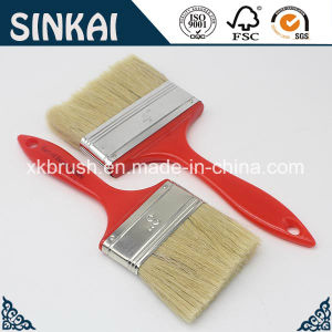 Red Handle Paint Brush with Competitive Price pictures & photos