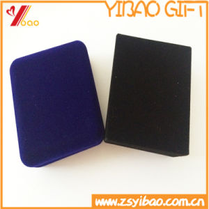 Custom Blue Velvet Box, Black Velvet Box for Coin pictures & photos