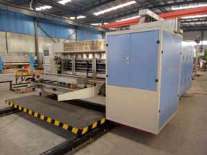 Corrugated Carton Box Printrbot 4 Colour Flexo Printing Machine pictures & photos