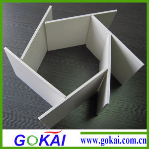 0.55 Density 8mm Thickness PVC Foam Board pictures & photos