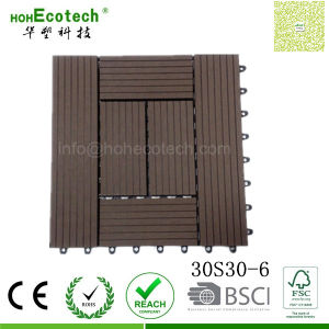 Square Dimension 300*300 Wood Composite Board Rpl Patio Tiles for Restaurant Balconies pictures & photos
