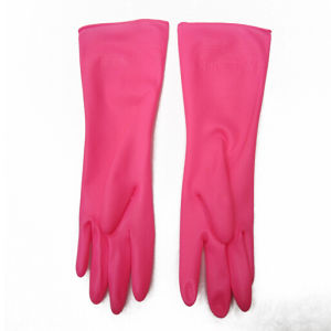Rubber Household Latex Gloves pictures & photos
