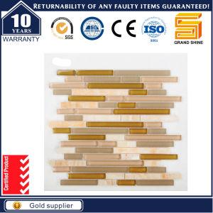 Irregular Lines Pattern Strip Glass Mosaic GS1058 pictures & photos