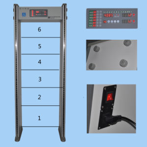 Easy Operating Enhanced-Edition 6 Zones Metal Detector Gate pictures & photos