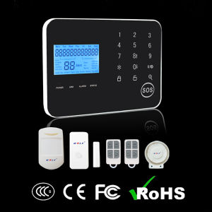OEM/ODM Touch Keypad Wireless Dual Network Intruder GSM Alarm System pictures & photos
