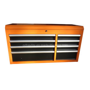 High Quality 42 in 8 Drawer Orange Roller Cabinet Top Chest pictures & photos
