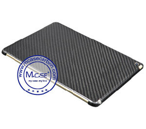 China Supply Real Carbon Fiber Back Case for Apple iPad Air 2 pictures & photos