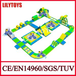 Newest High Quality Inflatable Beach Water Park From Lilytoys (Lilytoys-WP26)