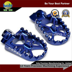 CNC Machining Aluminum Part for Racing Foot Pegs pictures & photos