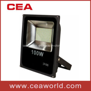 100W Ultra Thin Slim Type Integrated SMD2835 LED Flood Light Outdoor pictures & photos