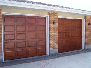 Automatic Sectional Garage Door (BH-GD01) pictures & photos