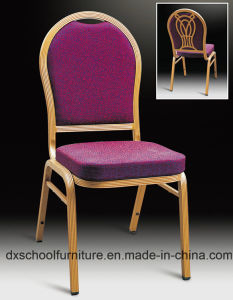 Aluminum Hotel Banquet Chair for Hotel Dining Hall pictures & photos