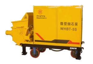 Trailer Mortar Concrete Pump Whbt-5s