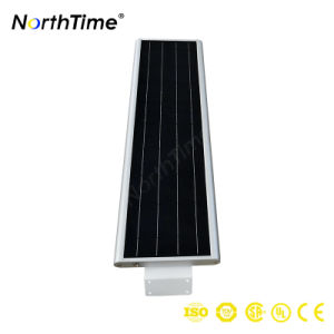 40W Smart LED Solar Street Light with Solarworld Panel pictures & photos