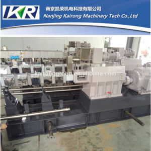 Tse-95A Parellel Co-Rotating Twin Screw Plastic Extruder Machine Manufacturer pictures & photos