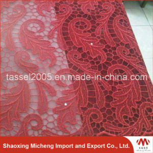 Hot Sell Net Lace with Stone 3038 pictures & photos