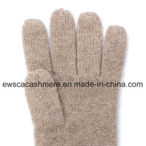 Five-Fingers Winter Pashmina Gloves with Stripes pictures & photos