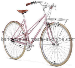 700c Nexus Inter 7 Speed Classical Girls Bike with Basket Dutch Oma Bike City Bike pictures & photos