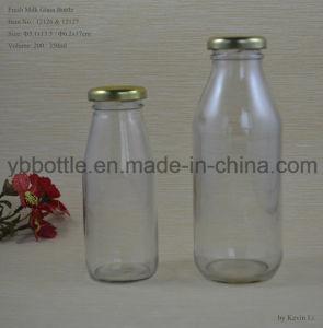 Milk Bottle with Tin Lid 100-500ml
